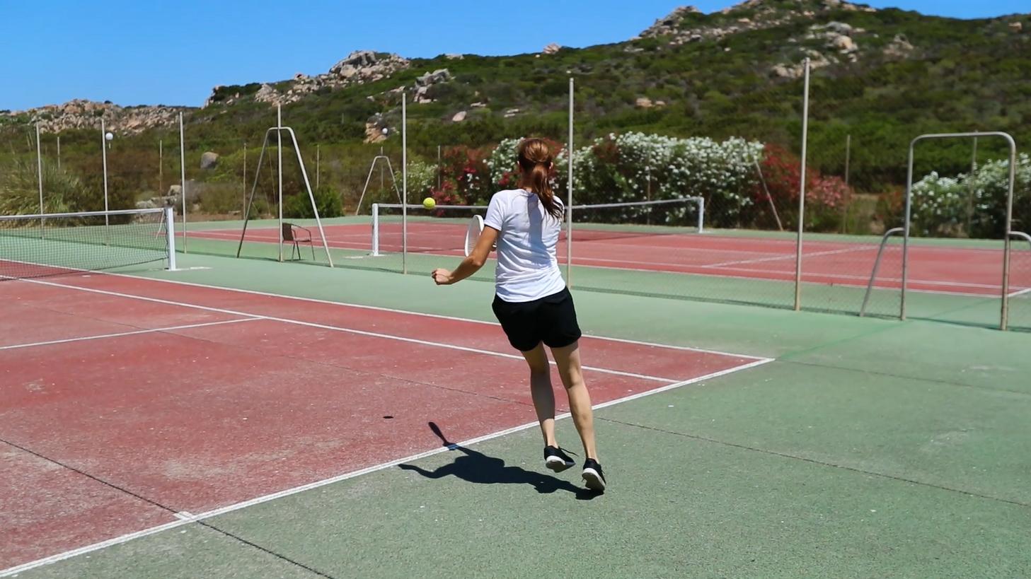 Partie de tennis à Bocca
